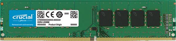 MEMORIA 4GB DDR4 2400 CRUCIAL CT4G4DFS824A