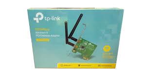 TARJETA PCI-E TP-LINK TL-WN881ND WIFI 2 ANTENAS 300Mbps